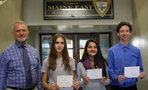 East National Merit Commended Students October 2018